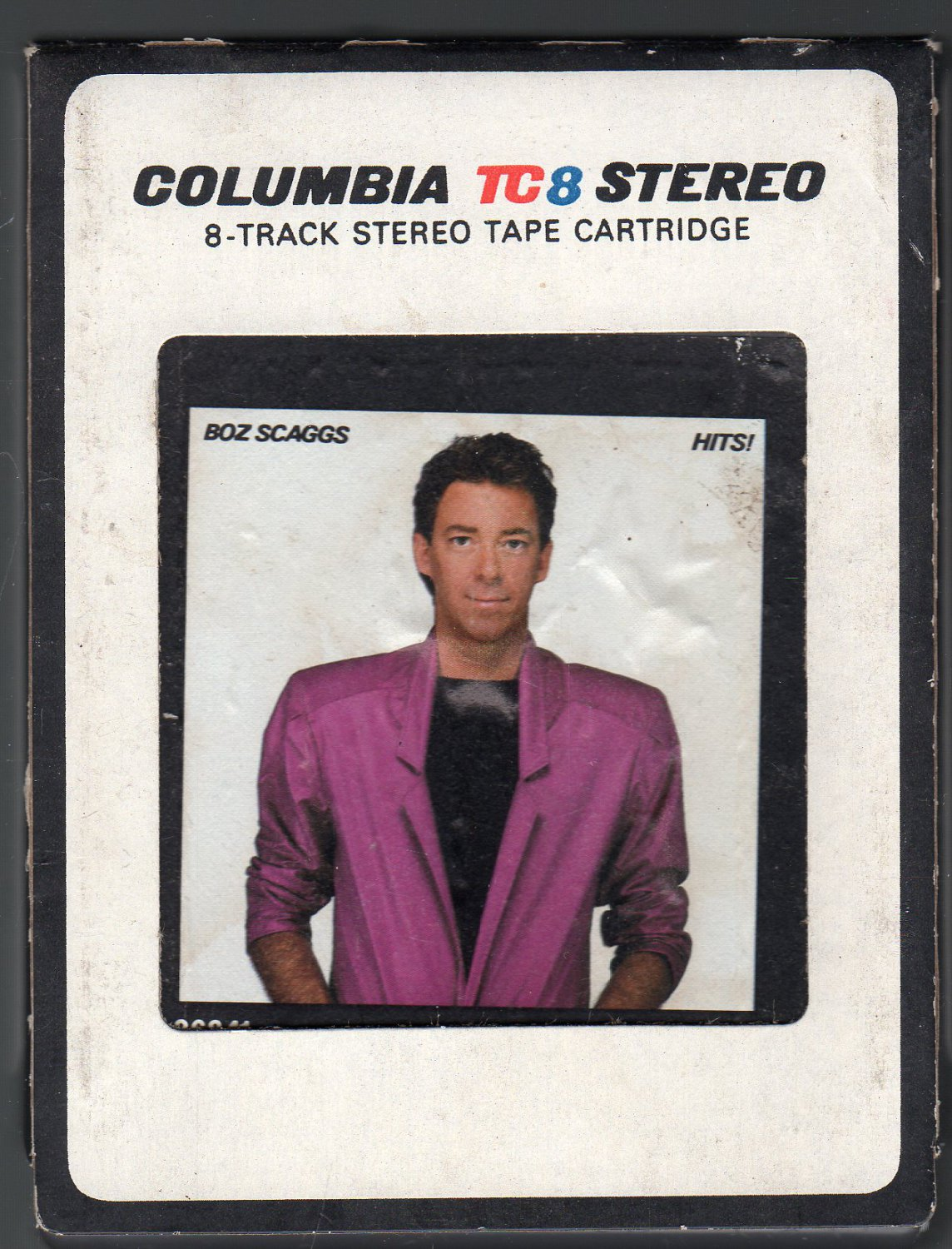 Boz Scaggs - Hits! 1980 CBS A34 8-track tape
