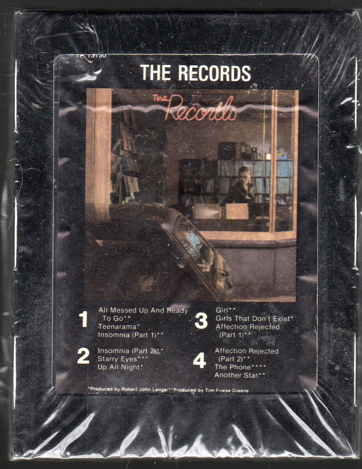 The Records - The Records 1979 Debut ATLANTIC Sealed A31 8-track tape