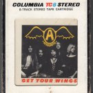 Aerosmith - Get Your Wings 1974 CBS T8 8-track tape