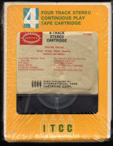 Oliver, Ortega, Monte, Accents, Koffman, Melino - Cha Cha Jubilee Sealed A26 4-TRACK TAPE