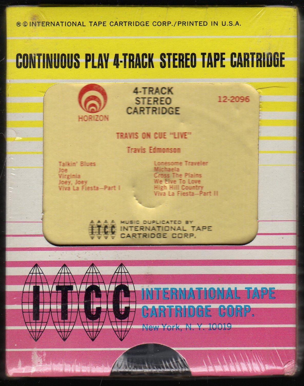 Travis Edmonson - Travis On Cue LIVE 1962 ITCC Sealed A26 4-TRACK TAPE