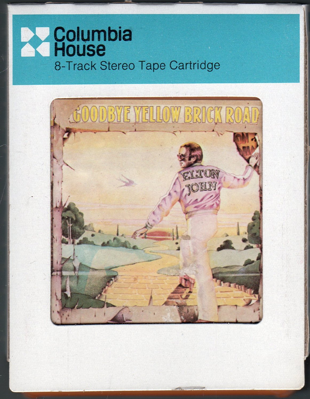 Elton John - Goodbye Yellow Brick Road 1973 CRC THIS A42 8-TRACK TAPE