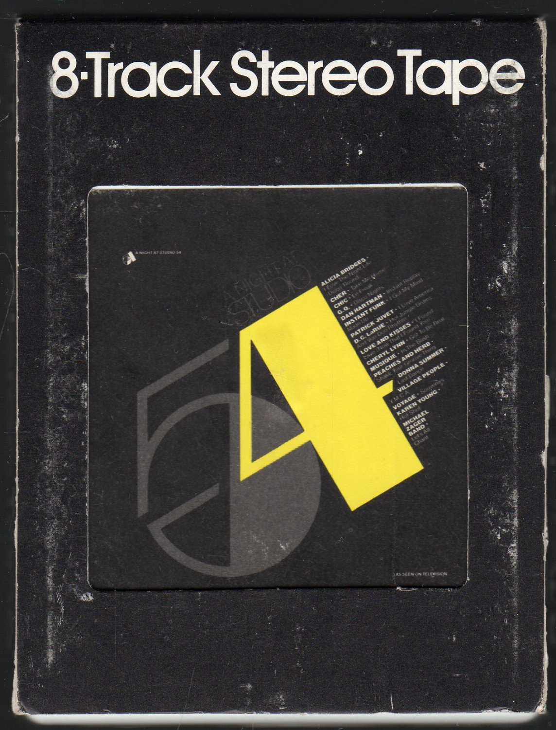 A Night At Studio 54 - Various Disco Artists 1979 CASABLANCA A42 Double Play SOLD 8-TRACK TAPE