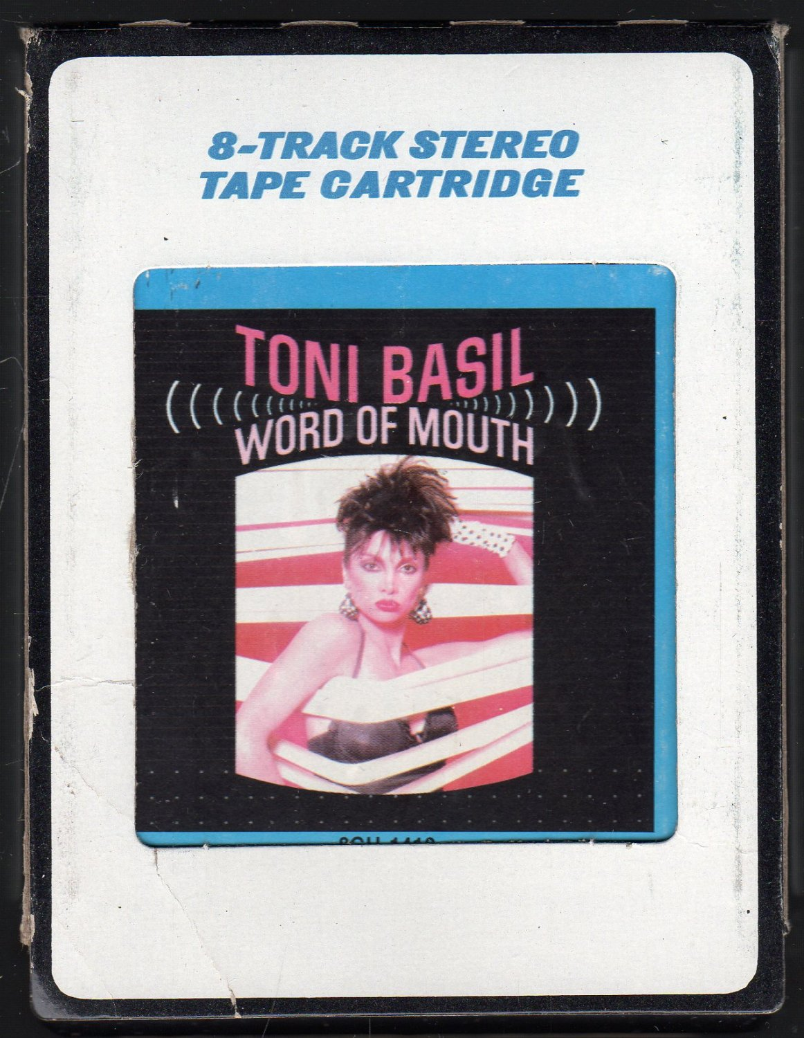 Toni Basil - Word Of Mouth 1982 Debut CRC A42 8-TRACK TAPE