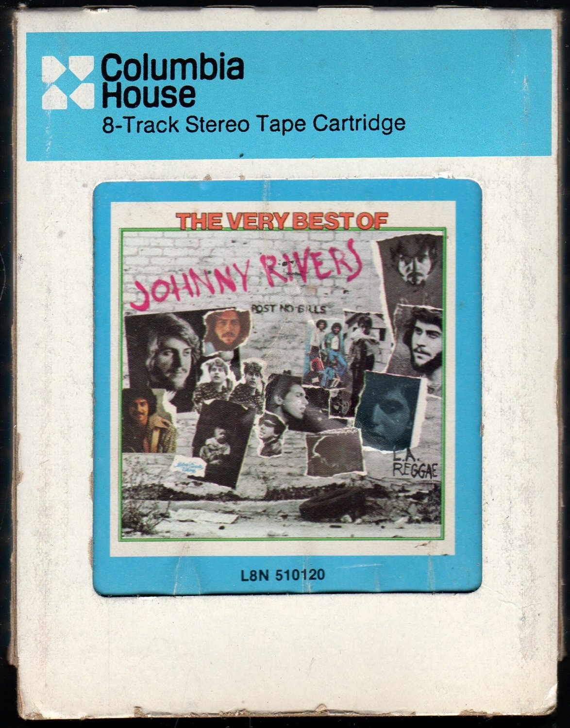 Johnny Rivers - The Very Best Of Johnny Rivers 1975 CRC Re-issue A42 8-TRACK TAPE