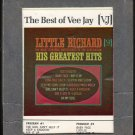 Little Richard - Little Richard's Greatest Hits 1968 VEEJAY A36 8-TRACK TAPE