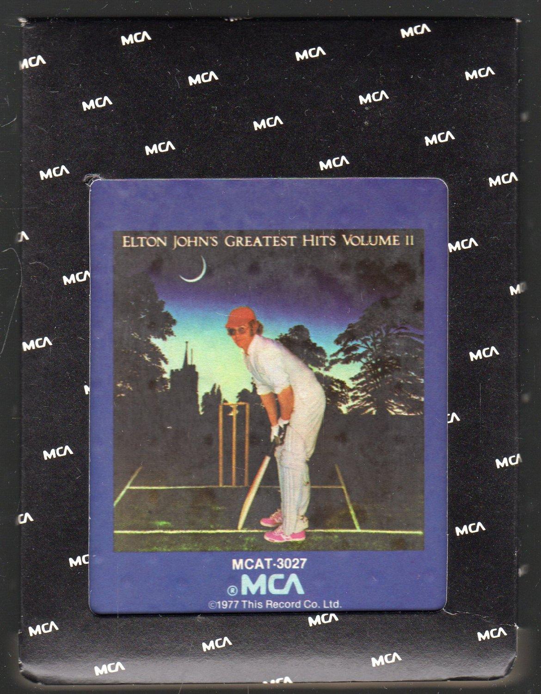 Elton John - Elton John's Greatest Hit's Vol II 1976 MCA A18F 8-TRACK TAPE