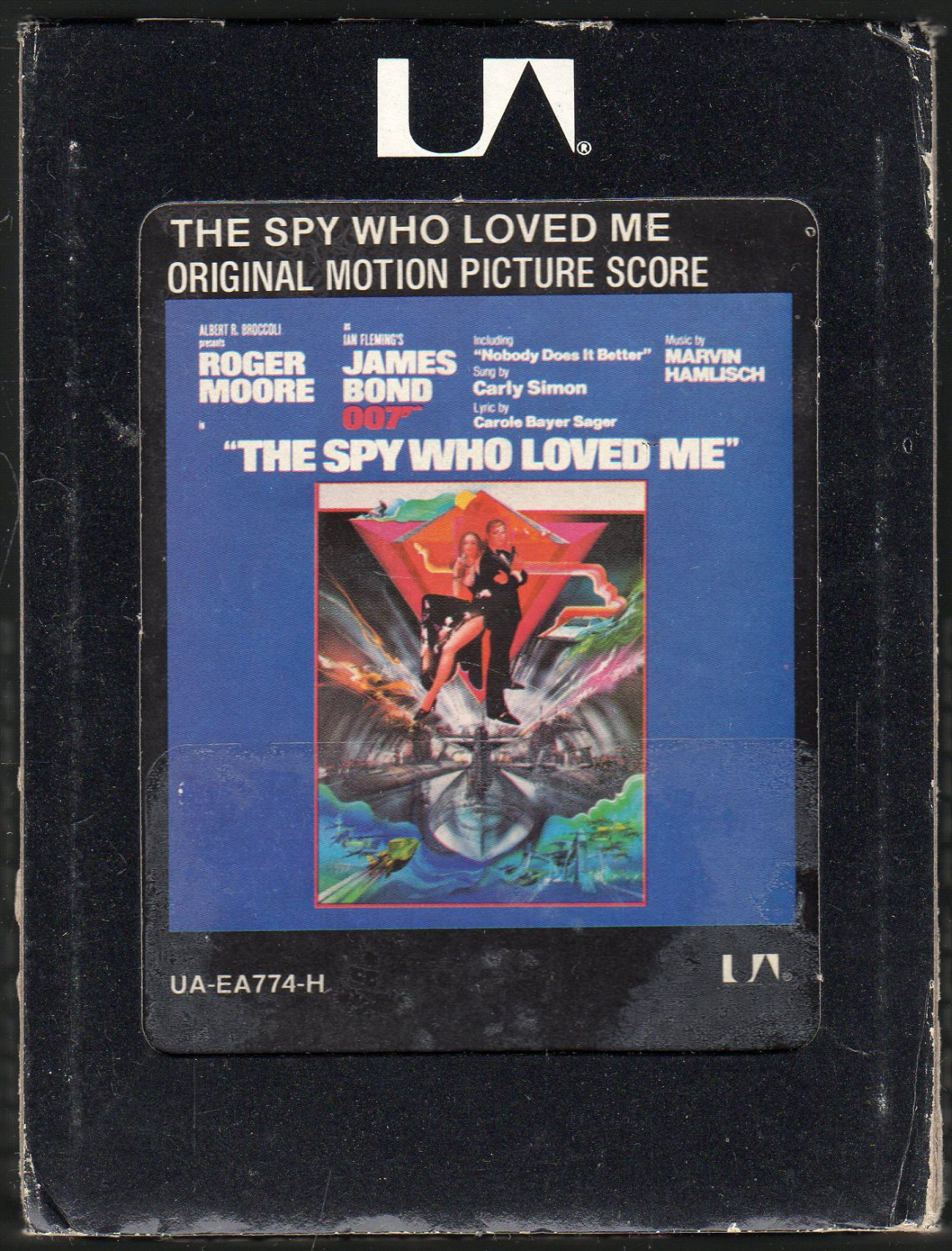 The Spy Who Loved Me - Original Picture Score 1977 UA A18F 8-TRACK TAPE