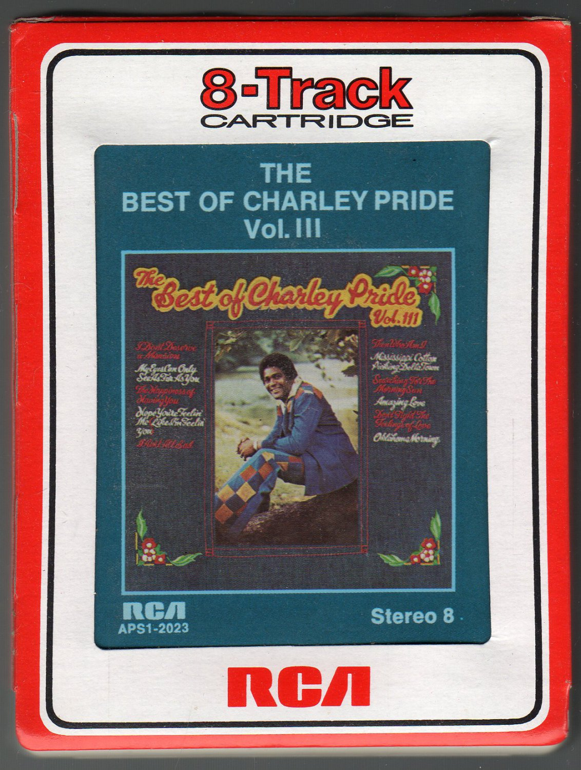 Charley Pride - The Best Of Vol 3 1976 RCA A43 8-TRACK TAPE