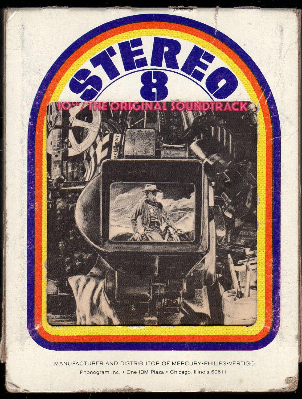 10cc - The Original Soundtrack 1975 MERCURY A19A 8-TRACK TAPE