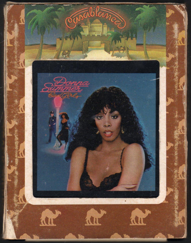 Donna Summer - Bad Girls 1979 CASABLANCA A2 8-TRACK TAPE