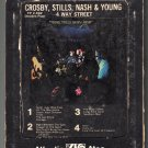 Crosby, Stills & Nash & Young - 4 Way Street 1971 ATLANTIC A41 Double Play 8-track tape