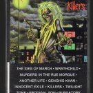 Iron Maiden - Killers 1981 CAPITOL C15 CASSETTE TAPE