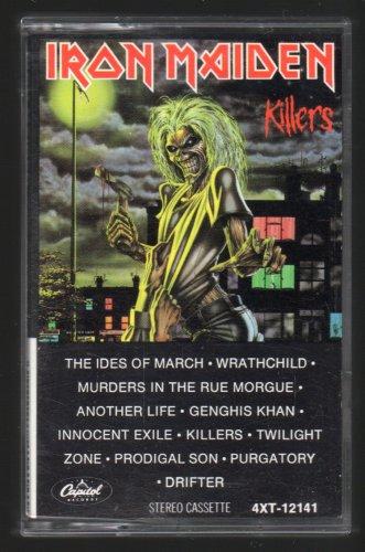 Iron Maiden - Killers 1981 CAPITOL C15 CASSETTE TAPE