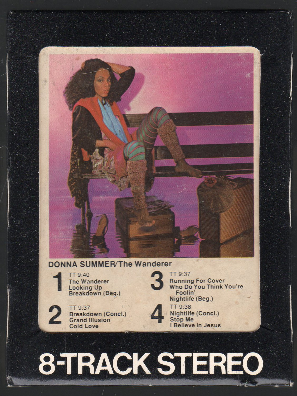 Donna Summer - The Wanderer 1980 WB A17A 8-TRACK TAPE