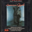 American Gigolo - Original Soundtrack Recording 1980 POLYDOR Sealed A38 8-TRACK TAPE