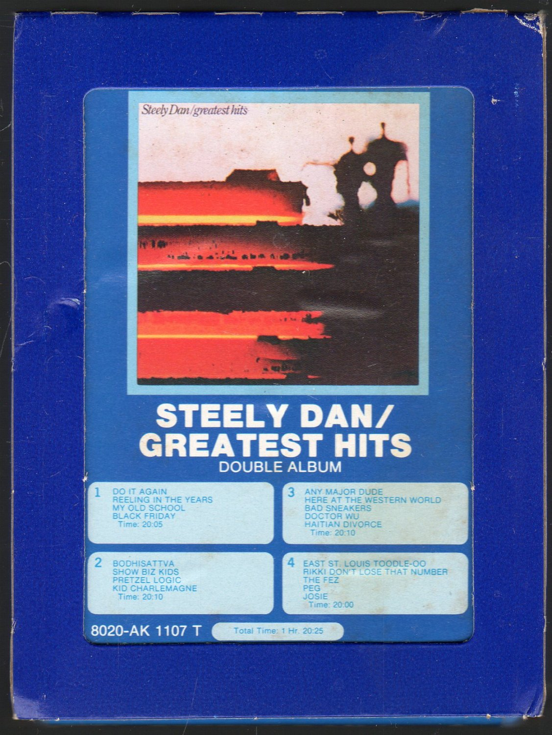Steely Dan - Greatest Hits 1978 GRT ABC A17 8-TRACK TAPE