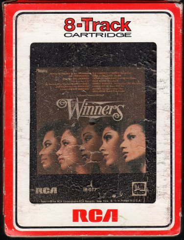 Winners - Various Contemporary R&B 1980 RCA I&M A17C 8-TRACK TAPE