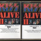 KISS - Alive II Vol I & II 1977 CASABLANCA C17 CASSETTE TAPE