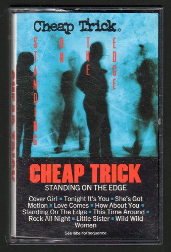 Cheap Trick - Standing On The Edge 1985 CBS C8 CASSETTE TAPE