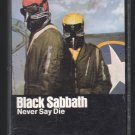Black Sabbath - Never Say Die 1978 WB C16 CASSETTE TAPE