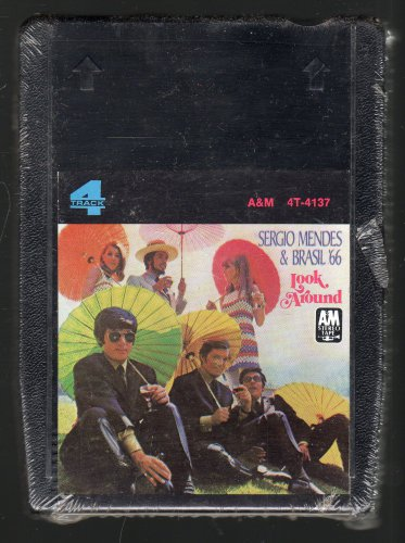 Sergio Mendes & Brasil '66 - Look Around 1968 A&M Sealed A15 4-TRACK TAPE