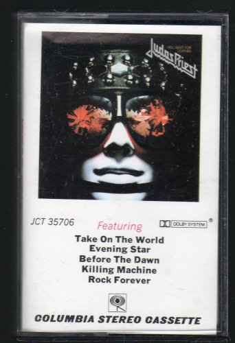 Judas Priest - Hell Bent For Leather 1978 CBS C14 CASSETTE TAPE