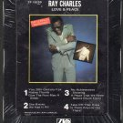 Ray Charles - Love & Peace 1978 ATLANTIC Sealed A18D 8-TRACK TAPE