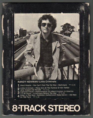 Randy Newman - Little Criminals 1977 WB A18D 8-TRACK TAPE
