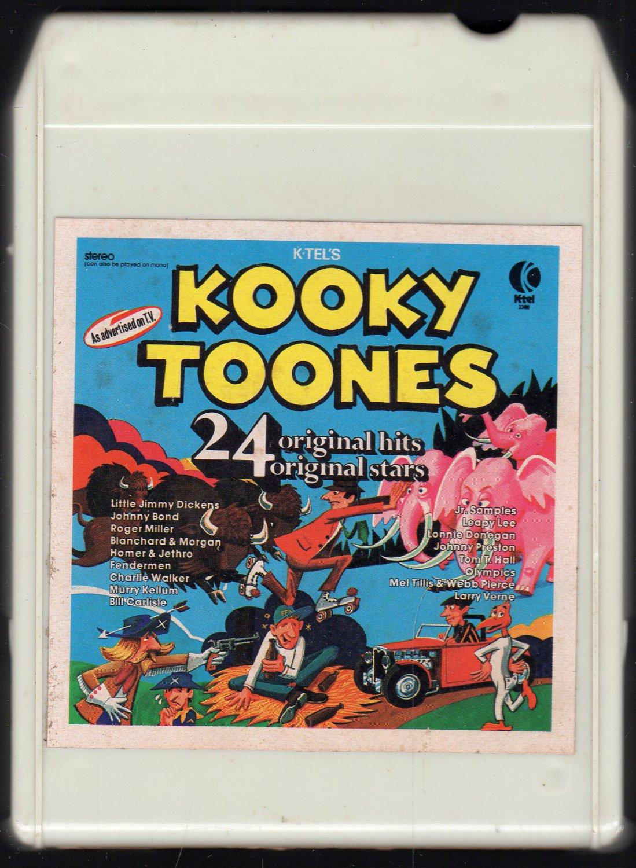 Kooky Tunes - 24 Original Hits Original Stars 1976 KTEL A18D 8-TRACK TAPE