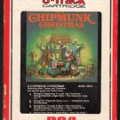 A Chipmunk Christmas - Featuring Alvin, Simon and Theodore 1981 RCA A18C 8-TRACK TAPE