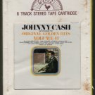 Johnny Cash - Original Golden Hits Vol 2 1969 SUN Sealed T3 8-TRACK TAPE