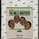 The Mills Brothers - The Best Of The Mills Brothers 1965 MCA Re-issue A10 8-TRACK TAPE