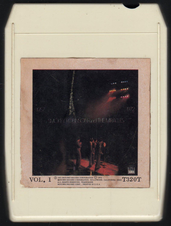 Smokey Robinson & The Miracles - 1957 - 1972 Vol I 1972 TAMLA AC2 8-TRACK TAPE