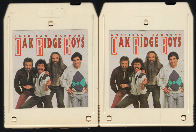The Oak Ridge Boys - American Harmony Tapes I and II 1986 HEARTLAND A51 8-track tape