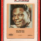 Nat King Cole - Ramblin' Rose 1967 RCA CAPITOL Reissue A19C 8-TRACK TAPE
