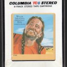 Willie Nelson - Willie Nelson's Greatest Hits 1981 CBS A44 8-TRACK TAPE