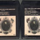 Nitty Gritty Dirt Band - Will The Circle Be Unbroken Vol 1&2 1972 UA A17C 8-TRACK TAPE