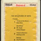 Keith - The Adventures Of Keith 1969 RCA A36 8-TRACK TAPE