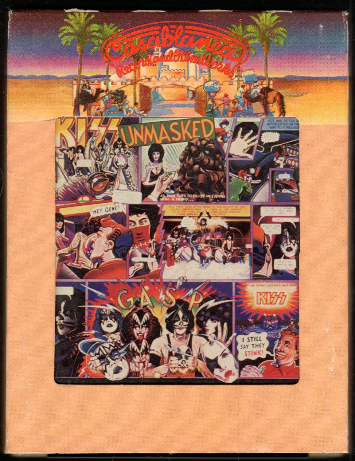Kiss Unmasked 1980 Casablanca T7 8 Track Tape