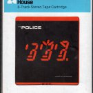 The Police - Ghost in the Machine 1981 CRC A41 8-TRACK TAPE