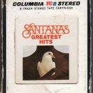Santana - Greatest Hits 1974 CBS A41 8-TRACK TAPE