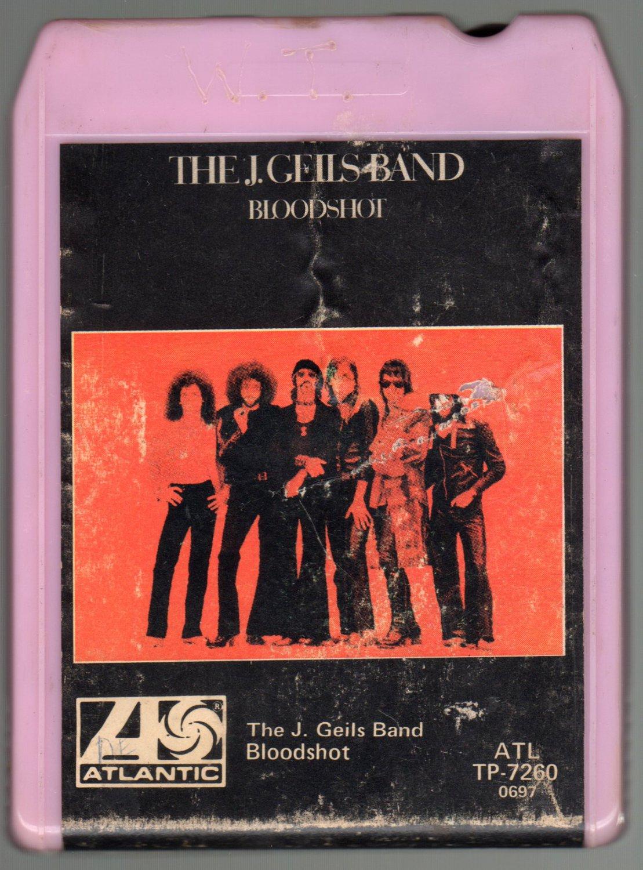 The J. Geils Band - Bloodshot 1973 ATLANTIC A14 8-TRACK TAPE