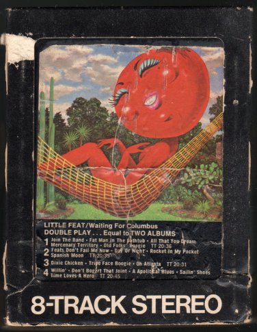 Little Feat Waiting For Columbus 1978 Wb A17 8 Track Tape