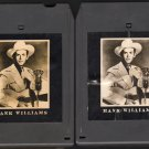 Hank Williams Sr - Country Western Classics Part 1&2 1981 TIME LIFE A18C 8-TRACK TAPE