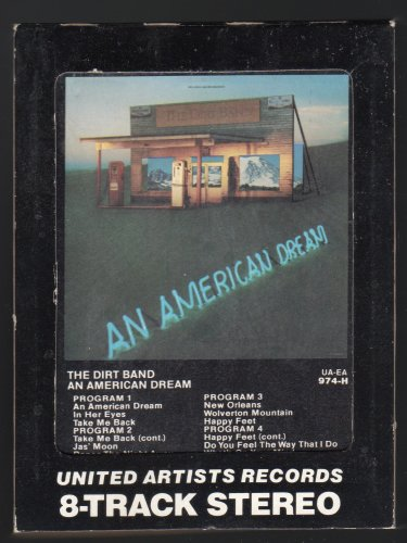 The Dirt Band - An American Dream 1979 UA A18C 8-TRACK TAPE