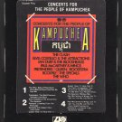 Concerts For The People Of Kampuchea - Various Rock 1981 ATLANTIC T2 8-TRACK TAPE