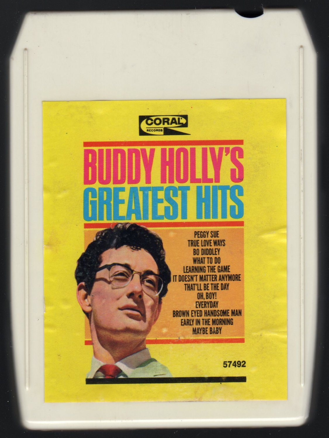 Buddy Holly - Buddy Holly's Greatest Hits 1967 CORAL A43 8-TRACK TAPE