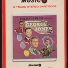 George Jones - The Race Is On 1965 MUSIC Sealed A43 8-TRACK TAPE