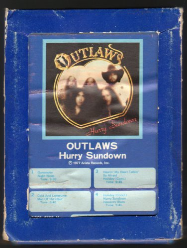 Outlaws - Hurry Sundown 1978 GRT A14 8-TRACK TAPE